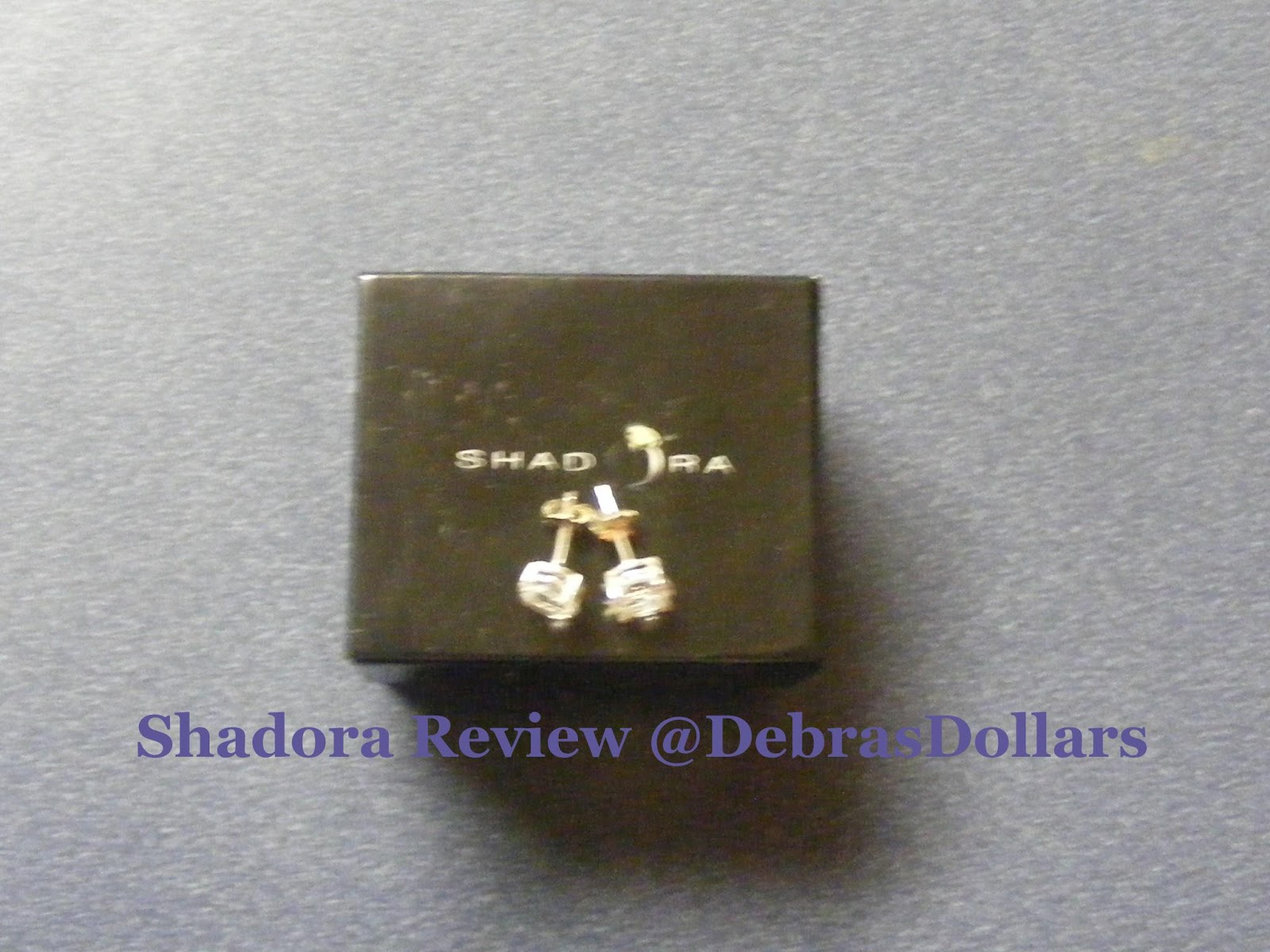 Debras Dollars It Just Makes Cents 2 Carat White Topaz Stud