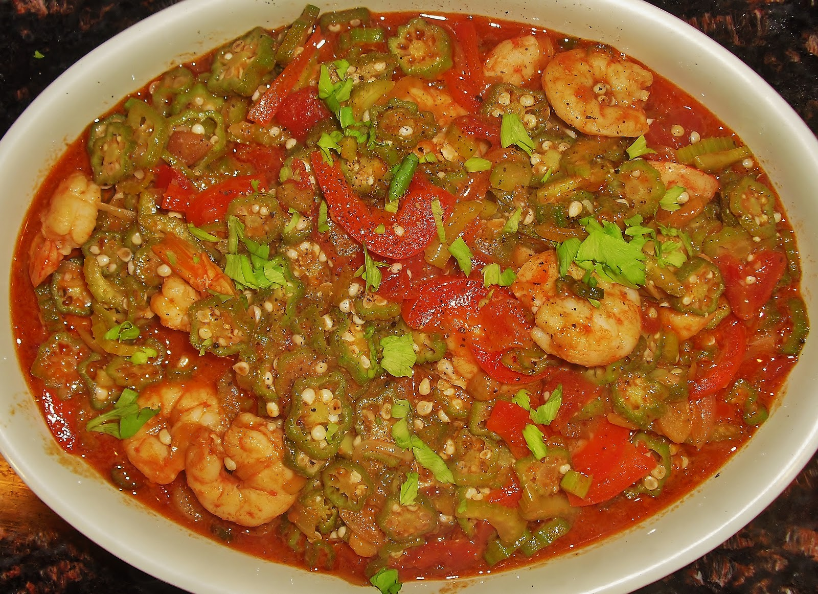 Shrimp And Okra Gumbo Recipe — Dishmaps