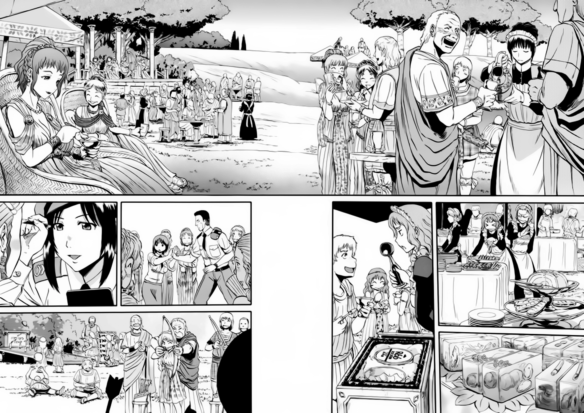 Gate – Jietai Kare no Chi nite, Kaku Tatakeri chap 30 Trang 10 - Mangak.info