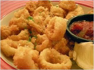 Resep Membuat Cumi Goreng Tepung Calamari