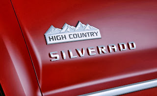 2014 Chevrolet Silverado High Country Logo