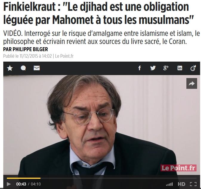 La seule façon d'empêcher une guerre civile en France, c'est de voter massivement Front national