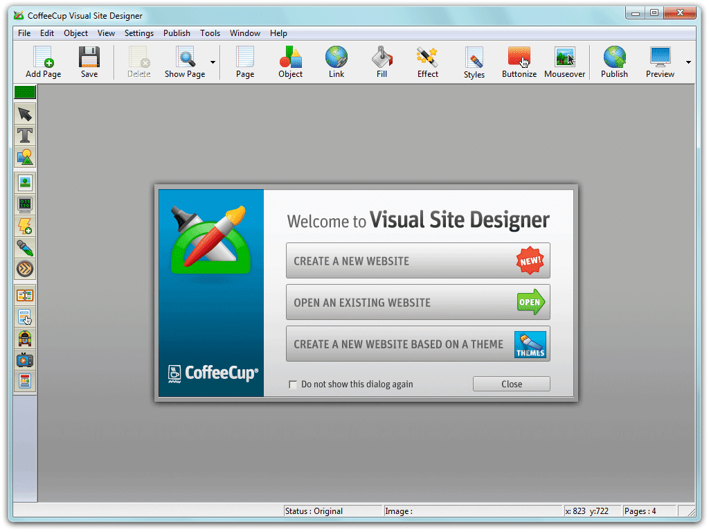 Download Free Software Coffeecup Visual Site Designer 7 0
