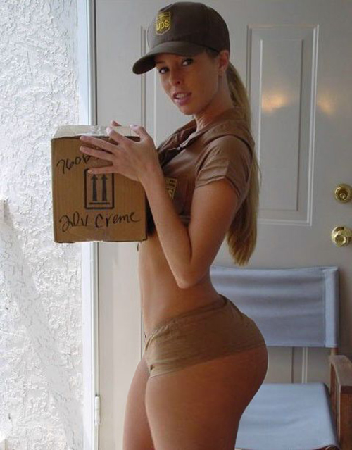 PHAWG. Seriously, how come delivery girls never look like this? There ...