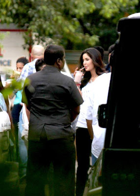 Katrina Kaif & Salman Khan Ek Tha Tiger at ETT screening