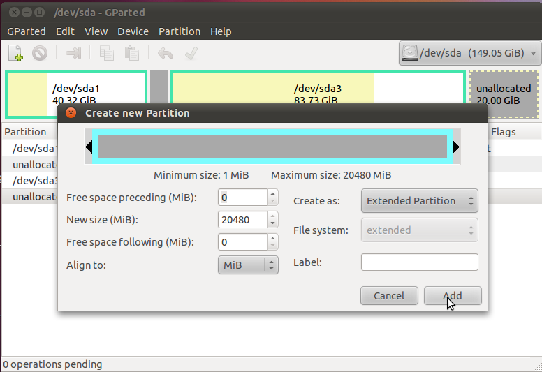 how to add new partition in to fstab in linux
