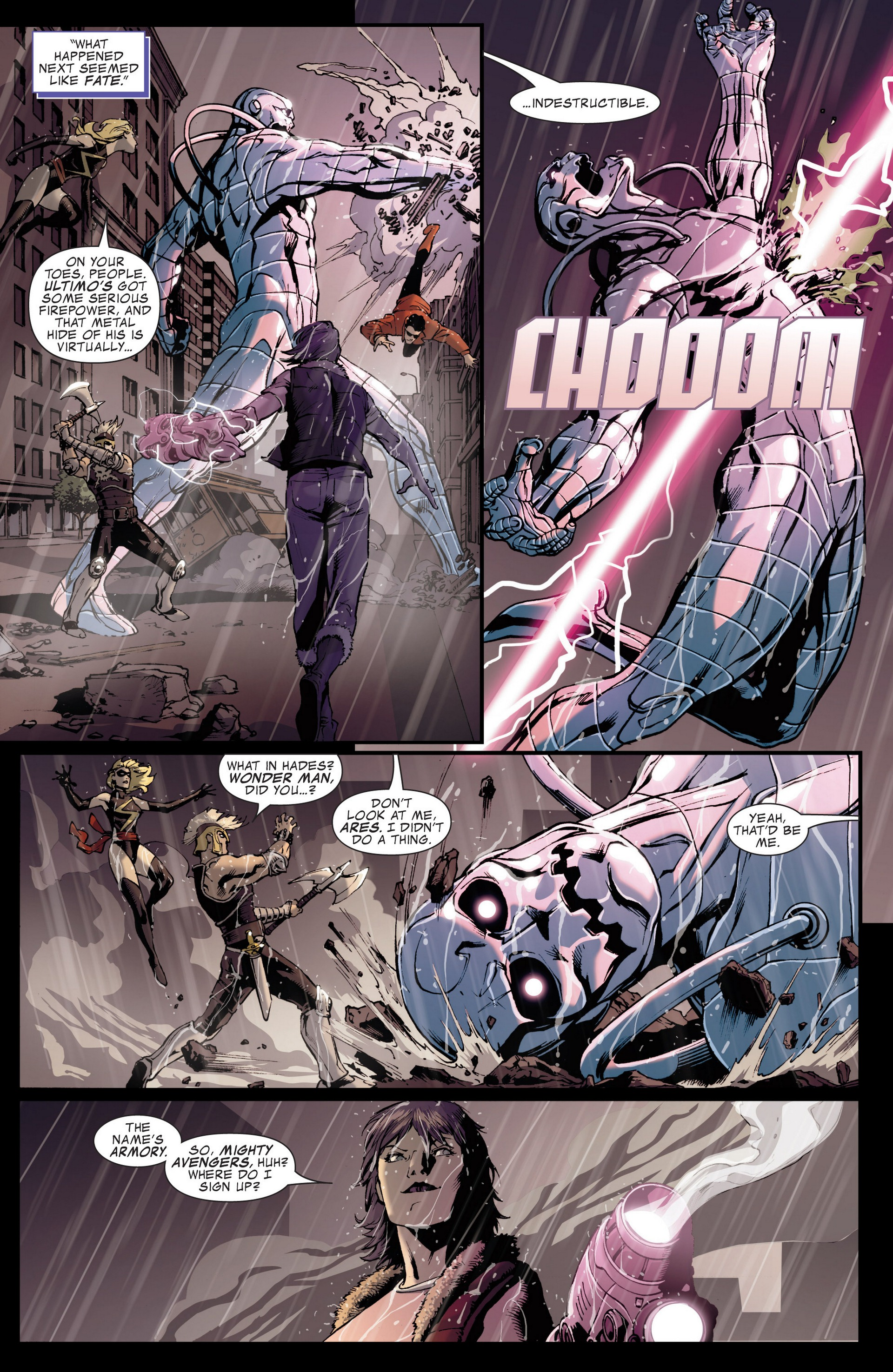 Read online Secret Invasion: The Infiltration comic -  Issue #4 - 14