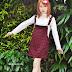 SHEINSIDE Review: Wine Woolen Dress