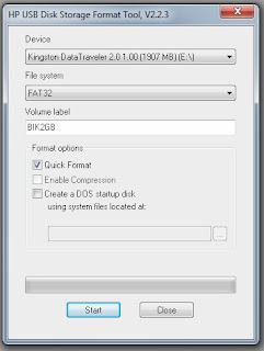 Memperbaiki Flash Disk Rusak 0 Bytes
