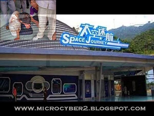 Kecelakaan Di Wahana Space Journey Di China