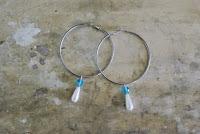 pendant fashion earrings diy hoops