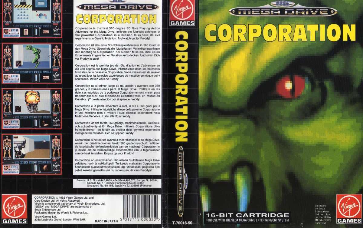 Corporation (Sega Mega Drive )