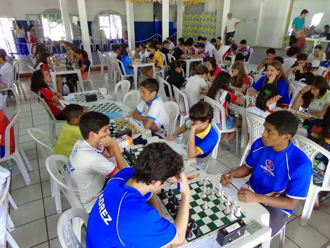 Juverns de Xadrez tem recorde de participação de atletas
