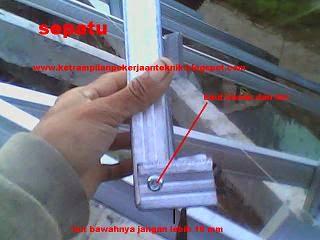 cara memasang baja ringan tips dan triks