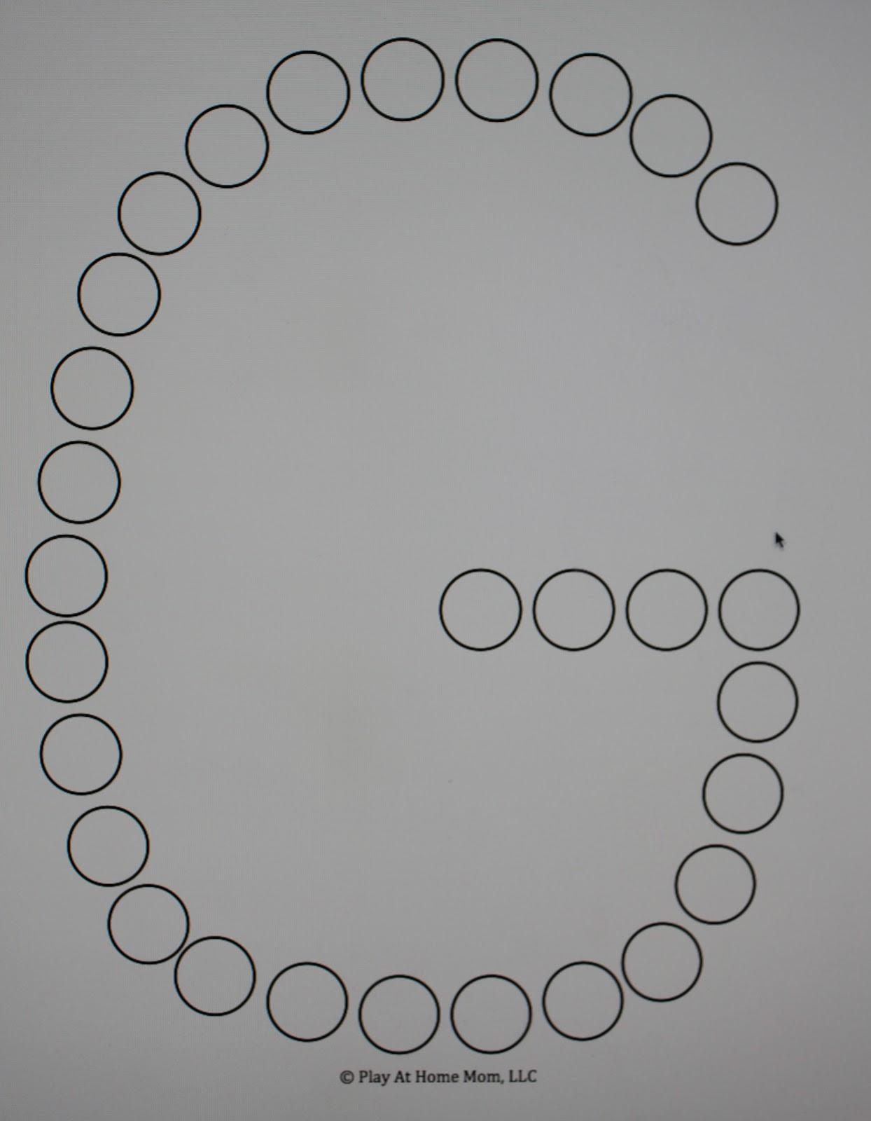 letter  number templates