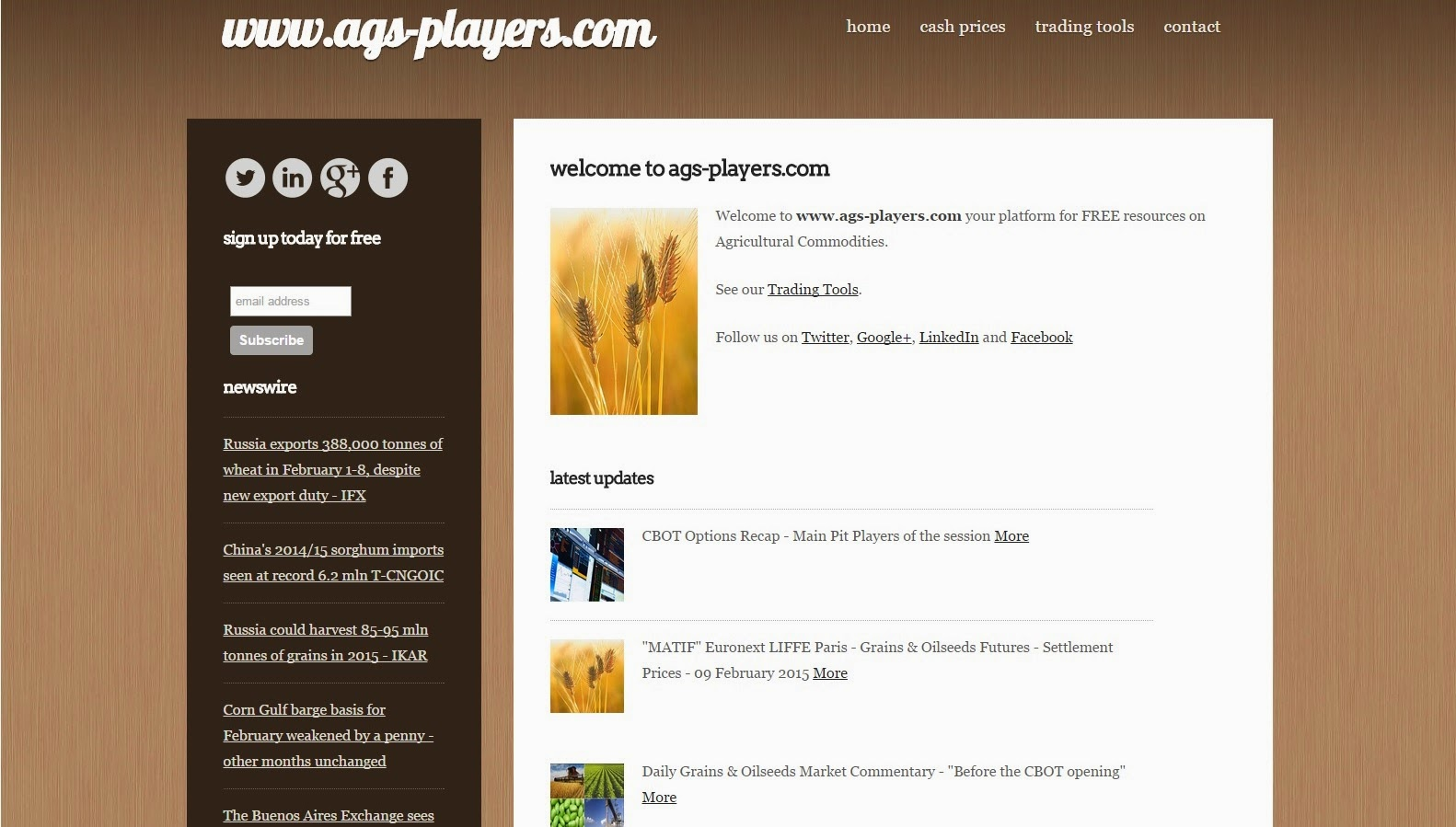 AgsPlayers - Ags Players - Grains Oilseeds Blog News Report Prices Corn Wheat Soybean Rapeseed Canola    Agricultural soft commodities commodity  Trading Traders Trader