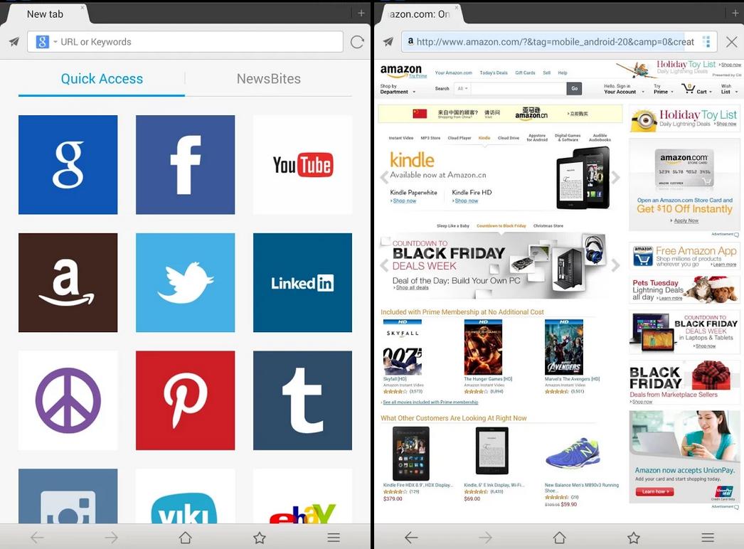 手機版 傲遊雲瀏覽器 APK 下載 ( Maxthon Browser APK )