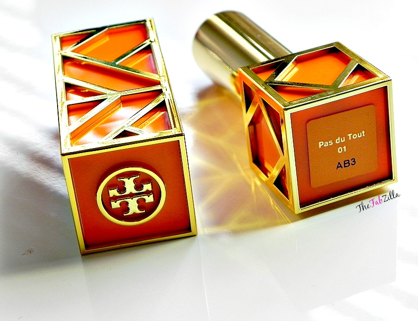 tory burch beauty, tory burch lip color pas du tout 01