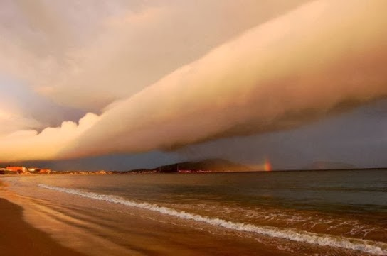 nubes rodillo Arcus cloud