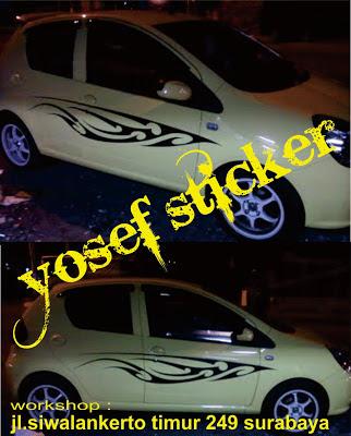 mobil sticker tribal TERBUKTI! Ampuh, Mobil Paling Tribal BBM Penghemat