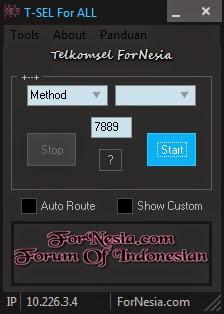 injek Telkomsel Update Fornesia for All kampret