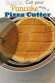 http://cookandcraftmecrazy.blogspot.com/2013/10/quick-tip-cut-your-pancakes-with-pizza.html