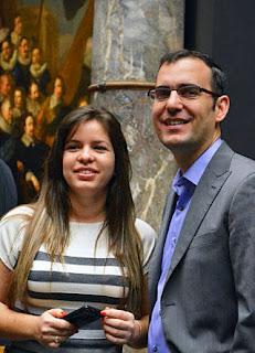Echecs : Leinier Dominguez et sa femme Yanelys - Photo © ChessBase