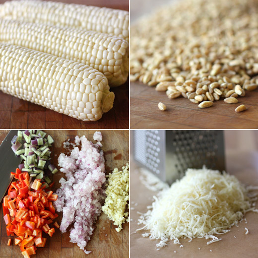 lisa is cooking: Corn Farrotto