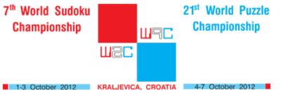 7th World Sudoku Championship and 21th World Puzzle Championship, 2012