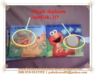 Softbook Where Elmo muka surat 7-8
