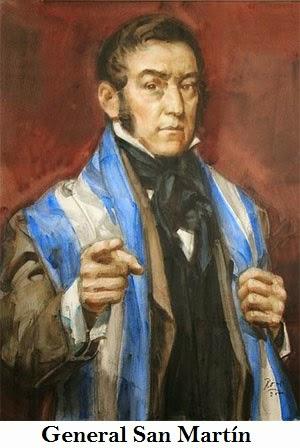 San Martín escribe una carta donde nombra a las Malvinas
