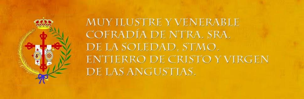 Hermandad de la Soledad, Stmo. Entierro de Cristo y Virgen de las Angustias