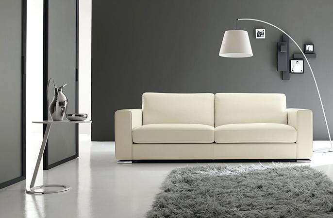 Divani e divani letto su misura divani moderni in pelle for Divani moderni pelle