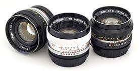 ペトリカメラの高速標準レンズ(パート1) Petri 55mm F1.8