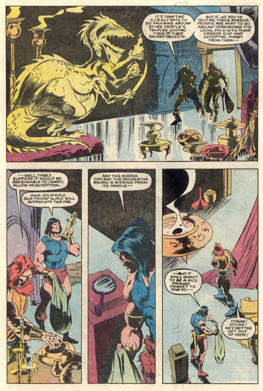 Conan the Barbarian (1970) Issue #165 #177 - English 3