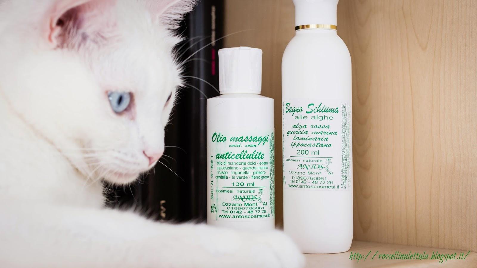 Antos: i miei prodotti anticellulite