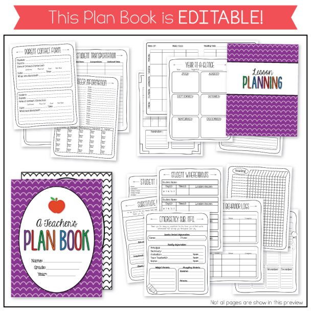 The Teacher Wife Classroom Schedule Freebie And My New