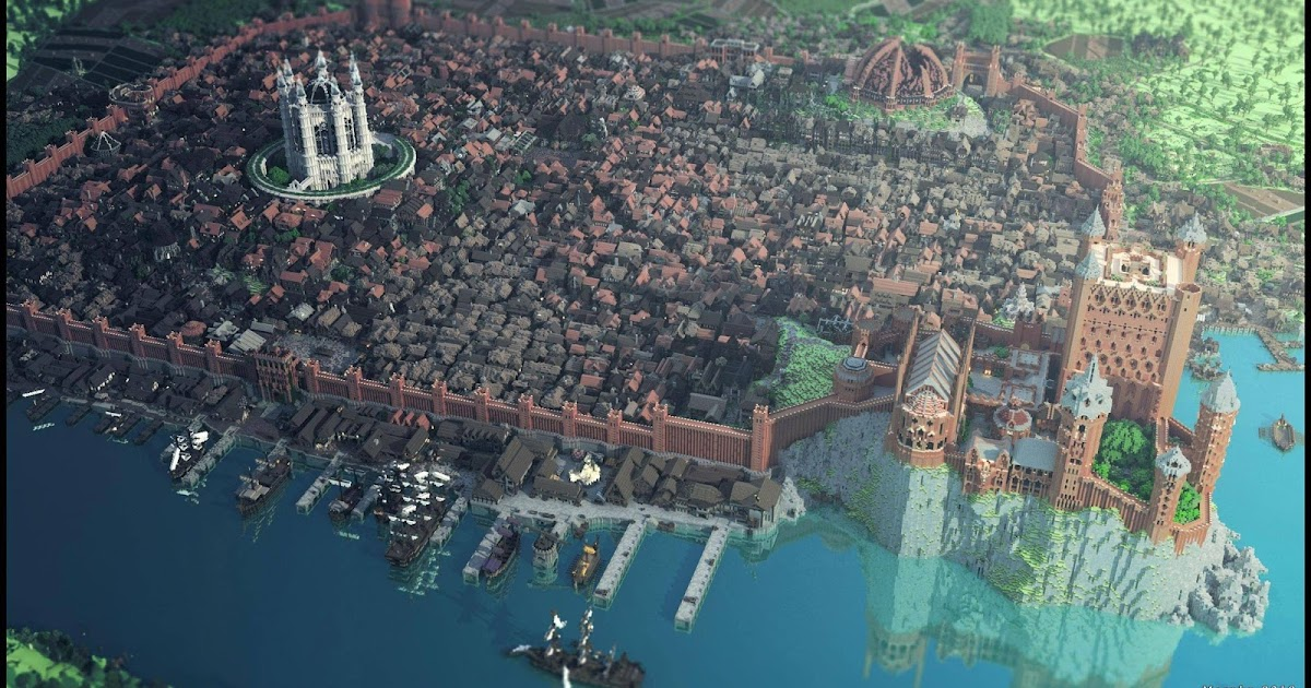 how to build westeros in minecraft