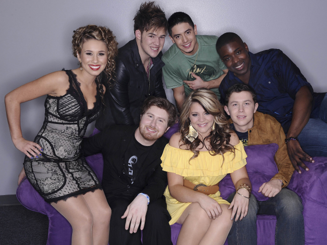 american idol season 10 top 7. American Idol, Season 10: Top