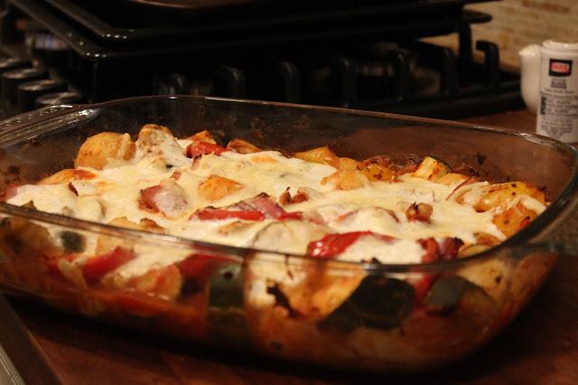 Tray bake cheesy mexican bake slimming world meal