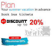 Rs.120 discount on bus tickets at RunBus Bus offer: BuyToEarn
