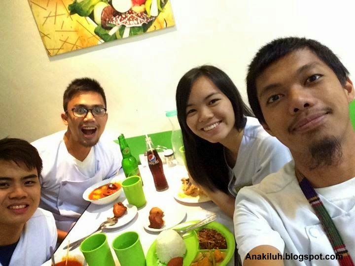 Food trip with classmates