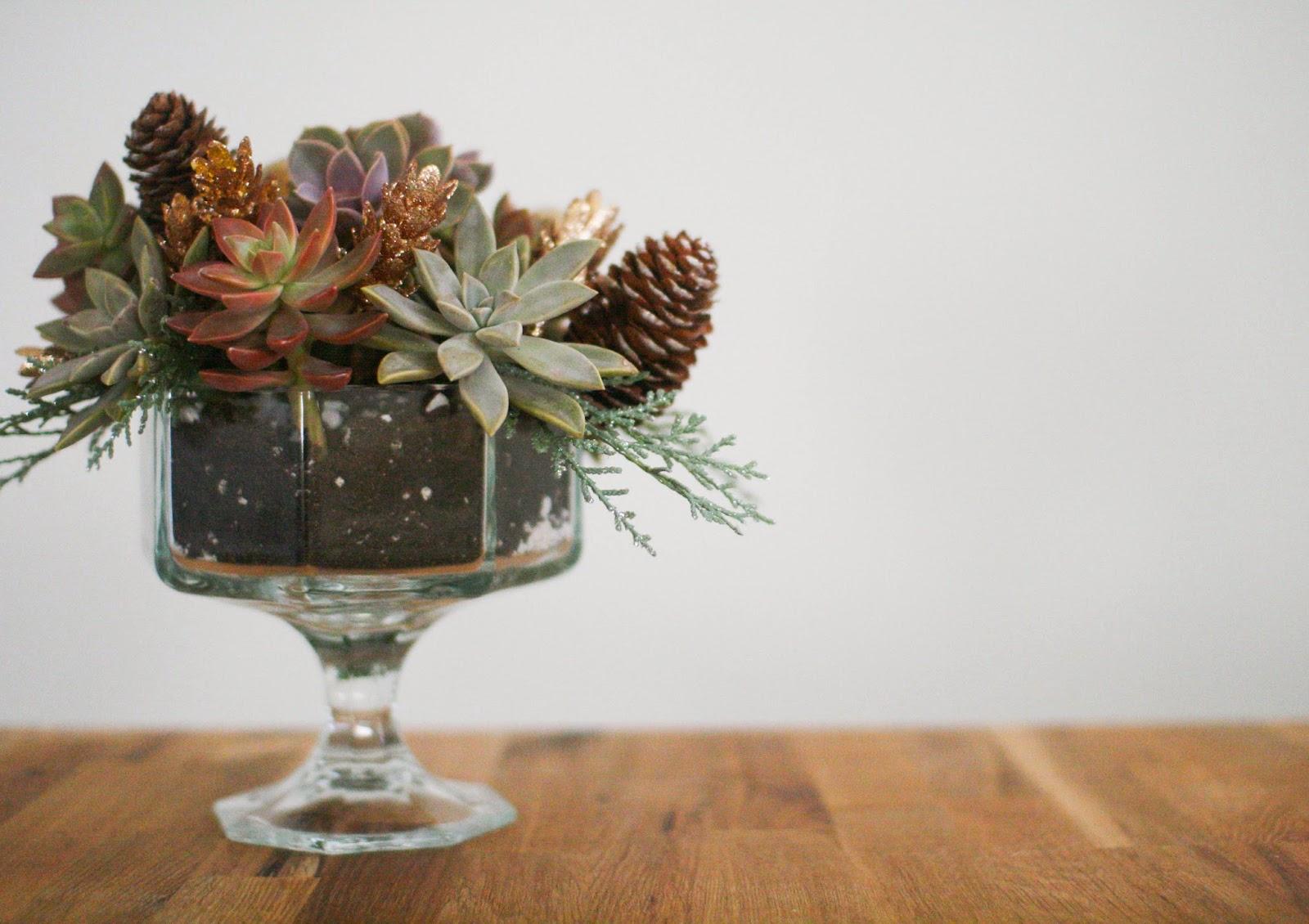 Fall Centerpieces For Sale : Neato bonito diy fall succulent centerpiece