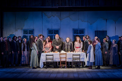 Fiddler on the Roof, Grange Park Opera - photo credit Robert Workman