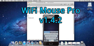 Con WiFi Mouse Pro puedes convertir tu movil o tablet android en un