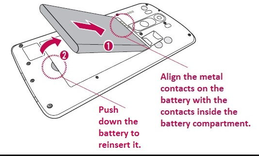 Smartphone LG G3 user guide