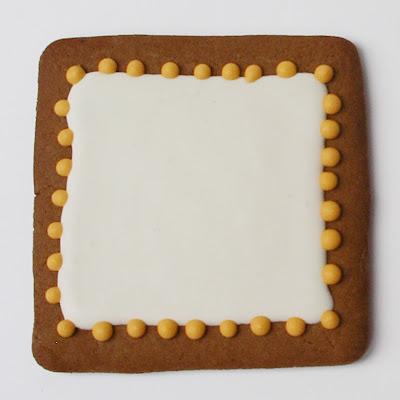 blank cookie