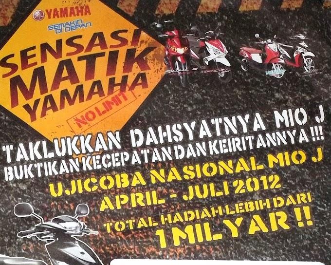 Jalan - jalan ke Sensai Matik Yamaha