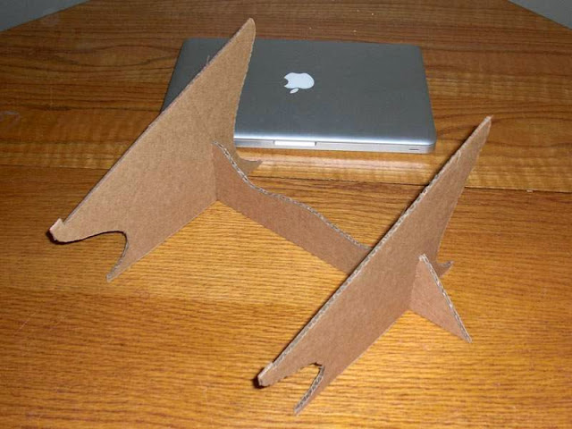 Как сделать подставку для ноутбука ноутбуком 5