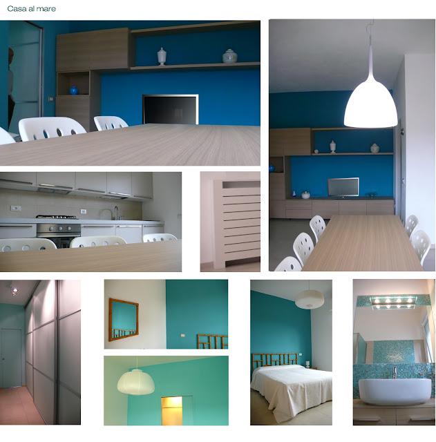 Hom architetti la casa al mare - Cucine per case al mare ...
